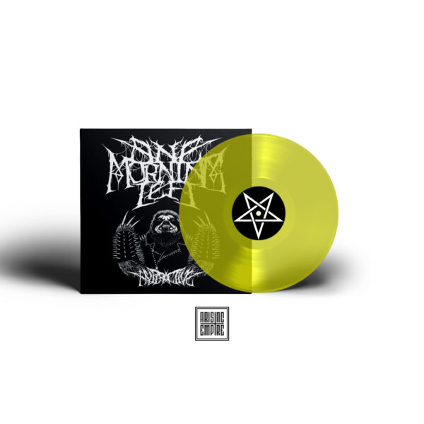 Vinyl-Record-and-Cover-Presentation-Mock-up-neon yellow transparent